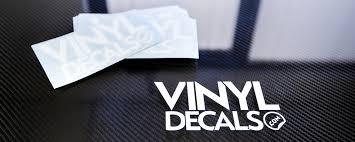 Custom Vinyl Lettering And Die Cut Vinyl Decal And Stickers