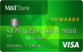 m t visa credit card with rewards