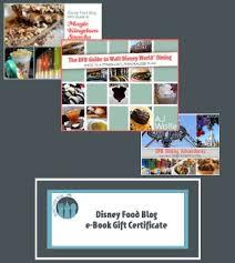 food e book gift certificates
