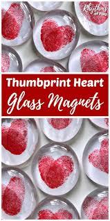 thumbprint heart gl magnets video