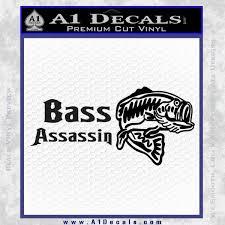 Bass Assassin Fishing Decal Sticker A1 Decals