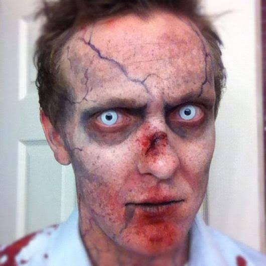 Resultado de imagem para zumbi para o halloween homem