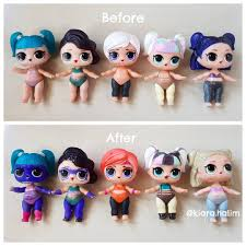 LOL dolls that can color change ...