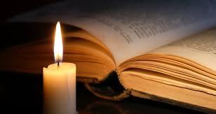Sulla fiamma di una candela