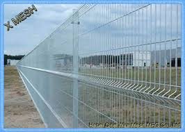 Galvanized Wire Mesh 3d Security Curved Metal Fence Flexible And Durable Pvc Coated