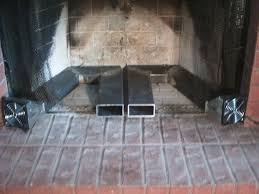 twin blower fireplace heat exchanger