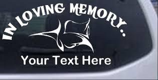 In Loving Memory Of Tulip Rose Car Or Truck Window Decal Sticker Rad Dezigns