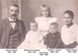 Zachariah D. Owens family photograph