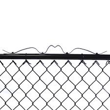 Black Chain Link Fence Gate At Menards
