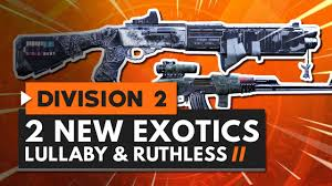 exotic weapons lullaby ruthless