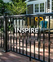 Freedom Pre Assembled New Haven 4 5 Ft H X 6 Ft W Black Aluminum Flat Top Decorative Fence Panel In The Metal Fence Panels Department At Lowes Com