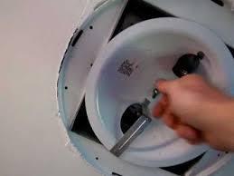 fix a noisy bathroom exhaust fan