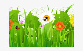 Fence Clipart Cute Flower Grass With Flower Cartoon Png 640x480 Png Download Pngkit