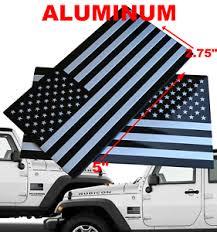 3d Metal American Flag Decal Sticker Mirror Set Truck Car 5 X 2 75 Ebay