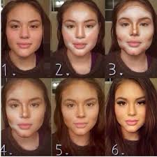 how to make makeup on my face