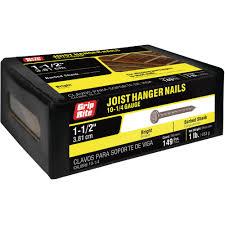 steel joist hanger nails