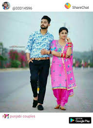sweet punjabi couple images nav