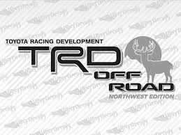 Toyota Trd Off Road Northwest Decal Stickers