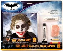 joker wig makeup kit batman dark knight