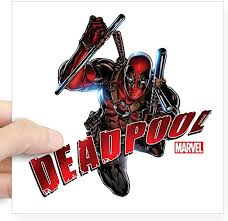 Amazon Com Cafepress Deadpool Jumping Square Sticker 3 X 3 Square Bumper Sticker Car Decal 3 X3 Small Or 5 X5 Large Home Kitchen