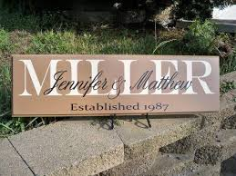 home decor gift family name plaque