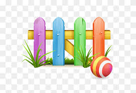 Color Fence Cartoon Fence Material Pastoral Cartoon Character Happy Birthday Vector Images Grass Png Pngwing