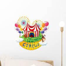 Carnival Circus Wall Decal Wallmonkeys Com
