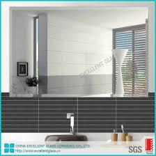 mirror glass sheet for indoor