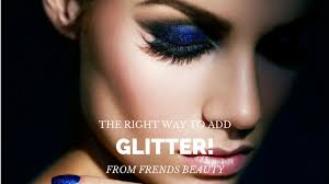 how to add glitter to your makeup the