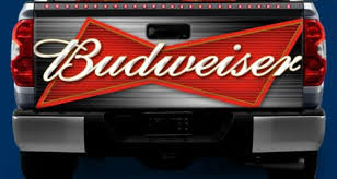 Auto Parts And Vehicles Budweiser Beer Tailgate Or Window Truck Tailgate Wrap Vinyl Graphic Decal Wrap Car Truck Graphics Decals