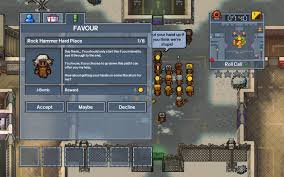 The Escapists 2 Fort Tundra Rock Hammer Hard Place Mgw Video Game Cheats Cheat Codes Guides