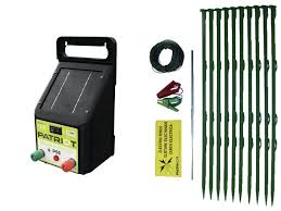 Patriot Solar Pet And Garden Fence Kit Ps5 100ft Wire Fence Posts Patriot Electric Fence Chargers Fencing And Farm Supplies From Valley Farm Supply