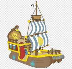 Peter Pan Piracy Ship Wall Decal S Of Treasure Chest Poster Caravel Png Pngegg