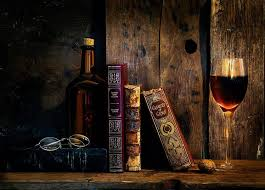 old books wine gles wallpapers hd