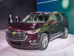 2018 chevrolet traverse redesigned