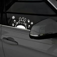 Totoro Car Decal Studio Ghibli Cute Pvc Sticker Waterproof Window Glass White Ebay