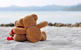 hd wallpaper sweet teddy romantic love