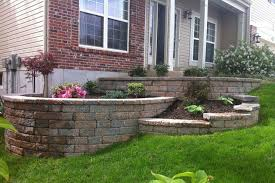 tiered retaining wall ideas tiered