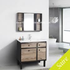 modern wood stainless steel bathroom