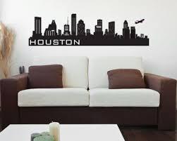 Houston Skyline Wall Decal Wall Sticker Wall Decals Wall Decor Stickers Kids Wall Decals