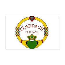 Claddagh Pipe Band Logo 20x12 Wall Decal By Listing Store 70404040 Cafepress