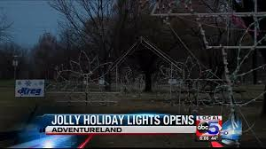 jolly holiday lights open up in new