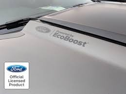 2015 2019 Ford Mustang Powered By Ecoboost Hood Decals Vinyl Sticker Graphic Rocky Mountain Graphics