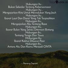 hubungan i quotes writings by neneng saputri s tr keb