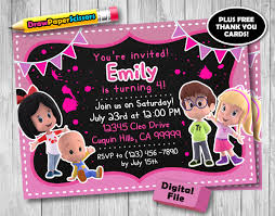 Cleo And Cuquin Birthday Invitation Digital Download Cleo Etsy
