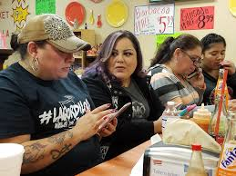 Print ON THE GROUND IN LAREDO, TEXAS Live, on the border, the 'crazy fat  lady' tells all Fans love her posts, but police don't: She's facing felony  charges VIDEO BLOGGER Priscilla Villarreal Treviño, left, known online as  Lagordiloca, issues bilingual ...