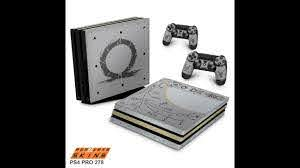Ps4 Pro Skin God Of War Limited Edition Youtube