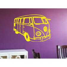 Shop Vw Bus Sticker Vinyl Wall Art Overstock 10037114