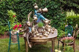 wonderland garden stock photos