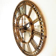 antiqued gold mirror iron roman
